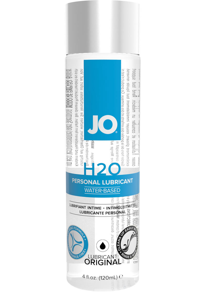 Jo H2o Water Based Lubricant 4 Ounce